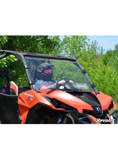 SuperATV Can-Am Maverick Scratch Resistant Vented Full Windshield
