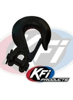 KFI Winch Winch Cable Hook Black