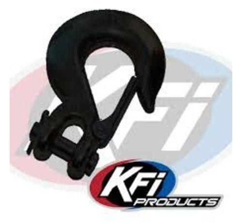 KFI Winch KFI - Winch Cable Hook Black