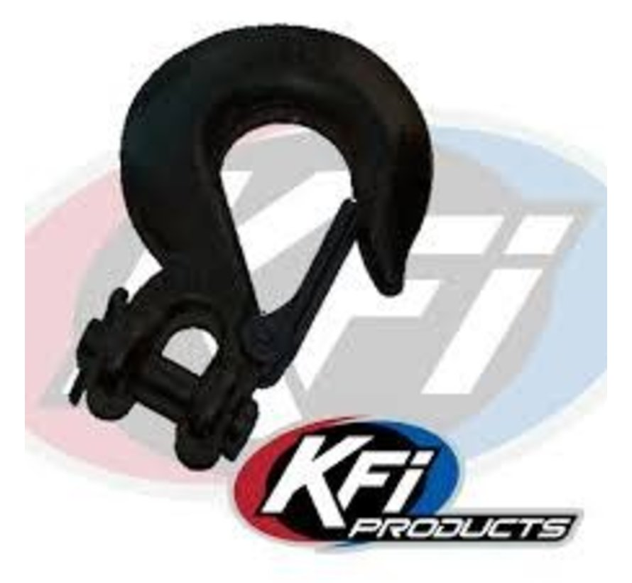 KFI - Winch Cable Hook Black