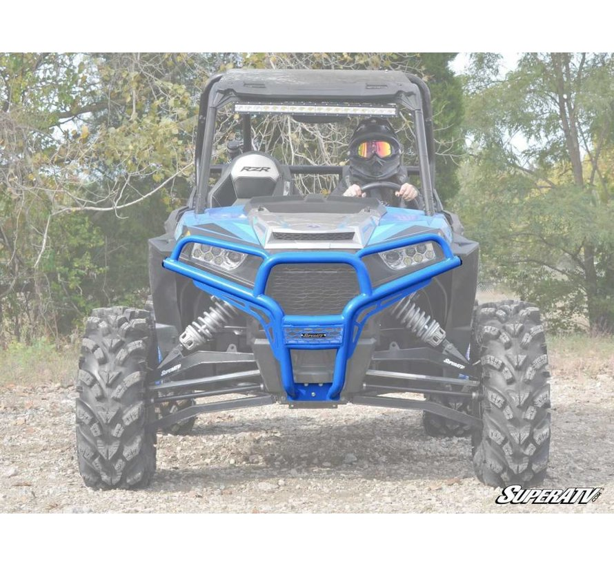 SATV - Polaris RZR 900/1000 Front Brush Guard - VELOCITY BLUE