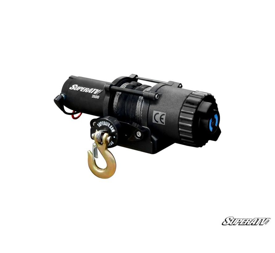 SATV - 3500 LBS Winch -  Synthetic Rope