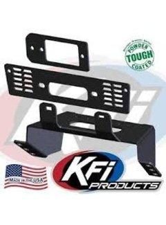 KFI Winch Winch Mounting Plate - 18-19 Polaris Ranger XP (101480)