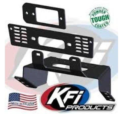 KFI Winch KFI - Winch Mounting Plate - 18-19 Polaris Ranger XP (101480)