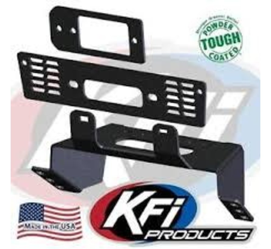 KFI - Winch Mounting Plate - 18-19 Polaris Ranger XP (101480)