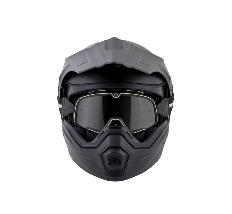 Scorpion Sports - EXO-AT950 MODULAR SOLID HELMET MATTE BLACK - Large