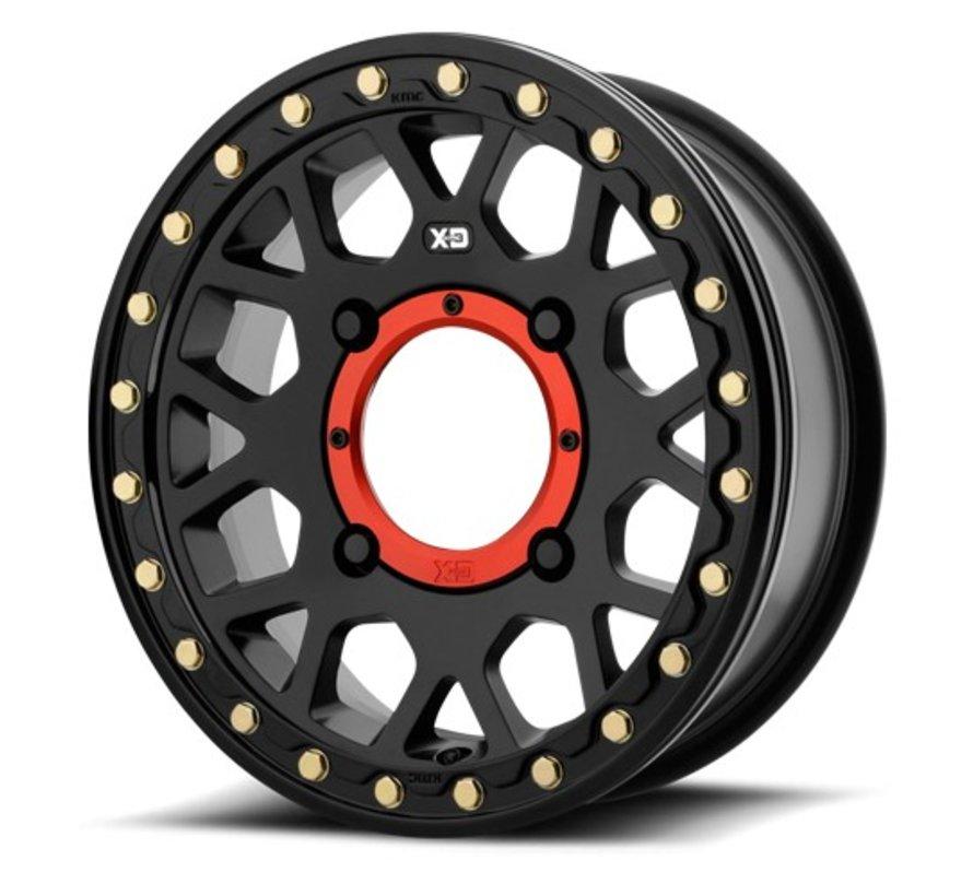 KMC-XS235 Granade Beadlock Satin Black  14x7 156 +10mm