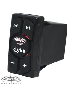 Wet Sounds WW-BT-RS | Wet Sounds Marine Bluetooth Rocker Switch with Volume Control