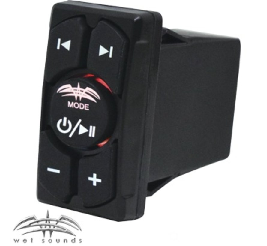 WW-BT-RS | Wet Sounds Marine Bluetooth Rocker Switch with Volume Control