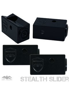 Wet Sounds Stealth Slider Clamp - Black