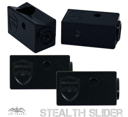 Wet Sounds Stealth Slider Clamp - Black