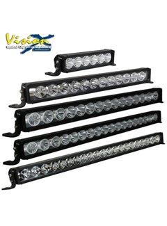 """Vision X USA LED Light Bar - 30"""" 150W Light Bar 15 LED w/Tilded Outer Optics FOR MIXED BEAM"""