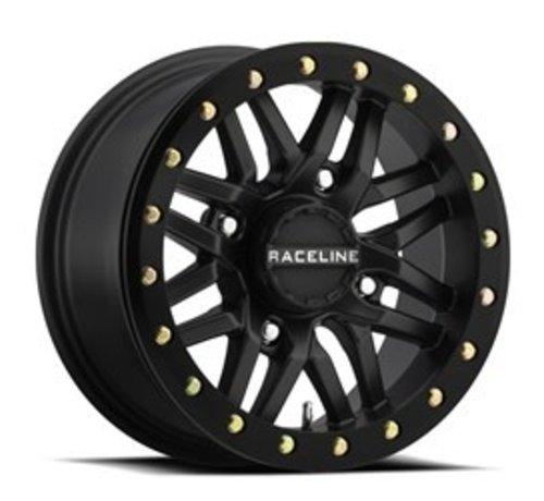 Raceline Ryno Beadlock - Black 14x7 4/137 5+2