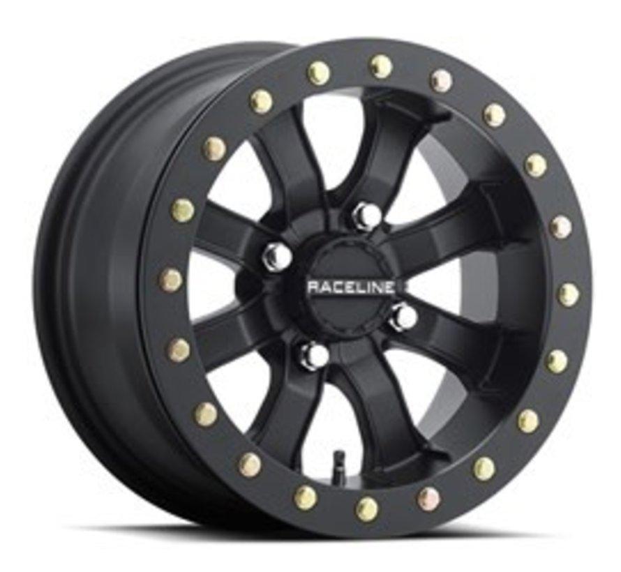 Raceline - Mamba Blackout Beadlock 14x7 4/156  4+3