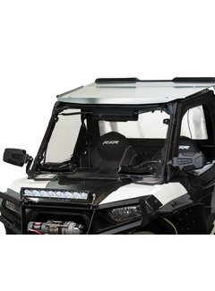 Seizmik Full Vented Windshield for Polaris RZR - Hard Poly