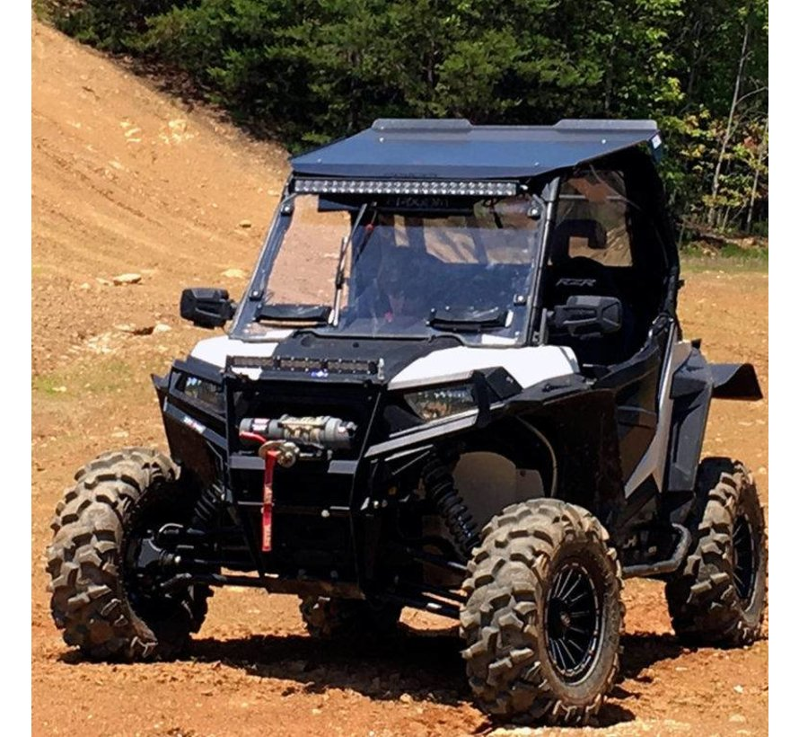 Full Vented Windshield for Polaris RZR - Hard Poly