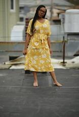 Papercrane Floral Linen Dress