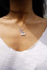 Zoli Jewelry Sterling Silver Crook Point Bridge Necklace