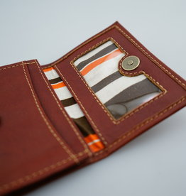 Leaders in Leather Tooled Business Card Holder