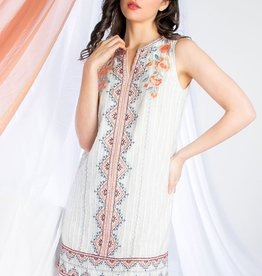 THML Embroid Shift Dress