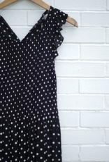 Papercrane Polka Dot Midi Dress