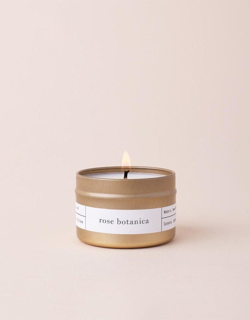Brooklyn Candle Studio Rose Botanica Travel Candle
