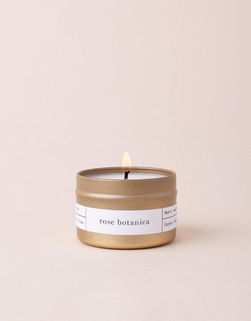 Brooklyn Candle Studio Rose Botanica Travel Candle