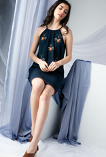THML Floral Embroid Dress