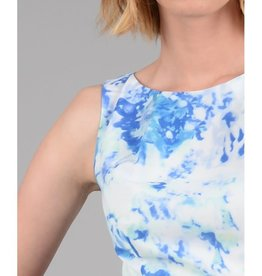 Molly Bracken Blue Watercolor Dress