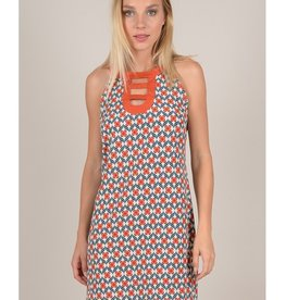 Molly Bracken Retro Print Dress