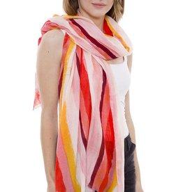 Janice Apparel Soft Stripes Scarf