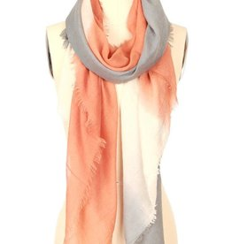 JC Bosto Wave Printed Cotton Scarf