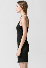 Double Zero Ribbed Knit Bodycon mini