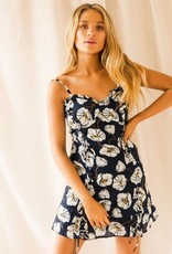 The East Order Blue & White Floral Dress