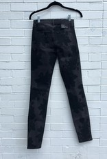 J Brand J Brand Photo Ready Slimming Skinny Jeans in Black Floral on Charcoal Gray