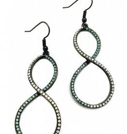 Sweet Lola Infinity Opal Earrings