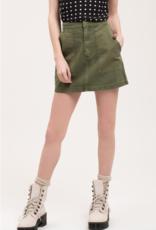 Blu Pepper PM Canvas Mini Skirt w/ Pockets