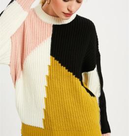 Wishlist Color Block Sweater