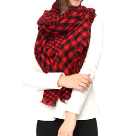 LIB Buffalo Plaid Scarf