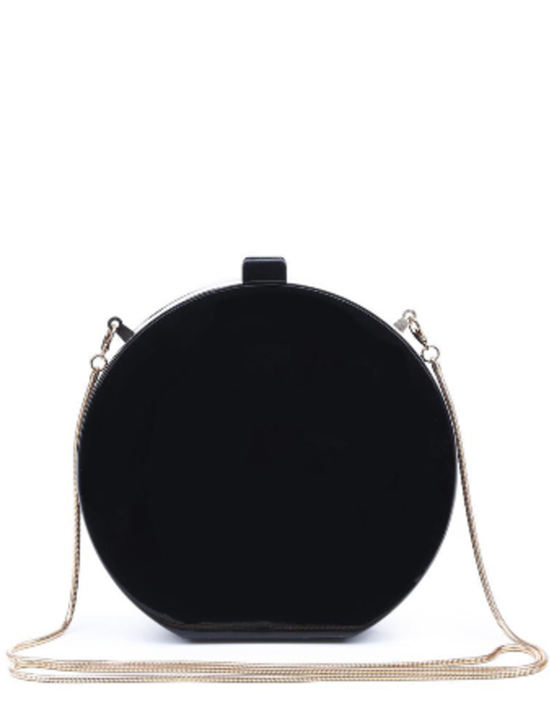Urban Expressions Acrylic Round Sparkle Evening Bag