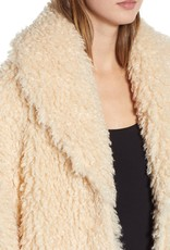 Some Days Lovin Shaggy Faux Shearling Coat