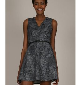 Molly Bracken Dash of Black Skater Dress