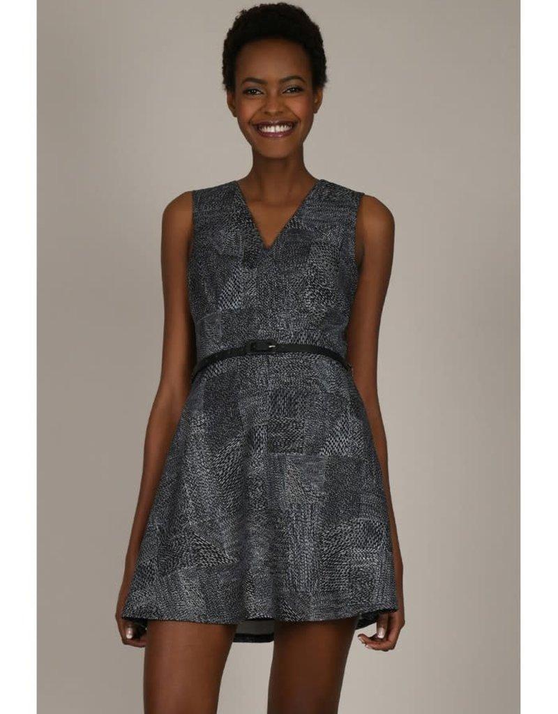 Molly Bracken Dash of Black Skater Dress
