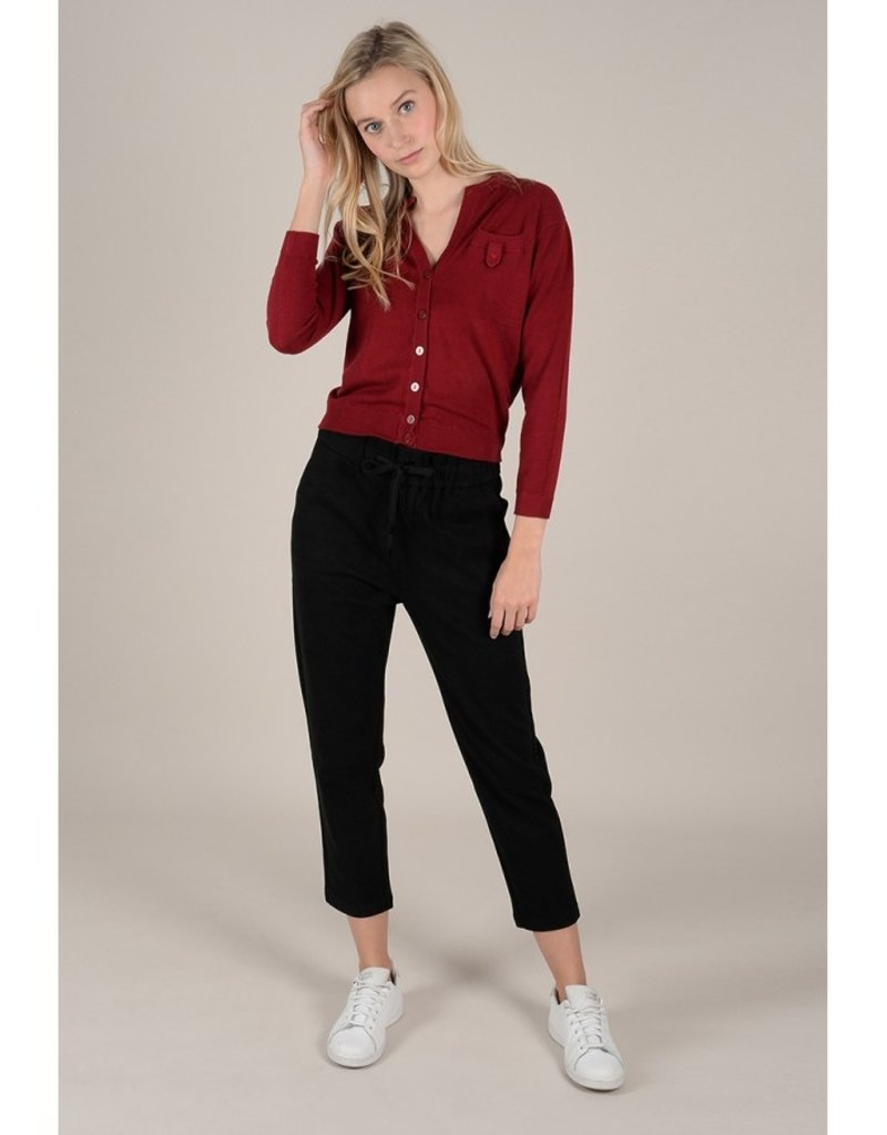 Molly Bracken Button Front Cardigan with Button Detail