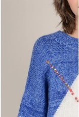 Molly Bracken Lozenge Pattern Sweater