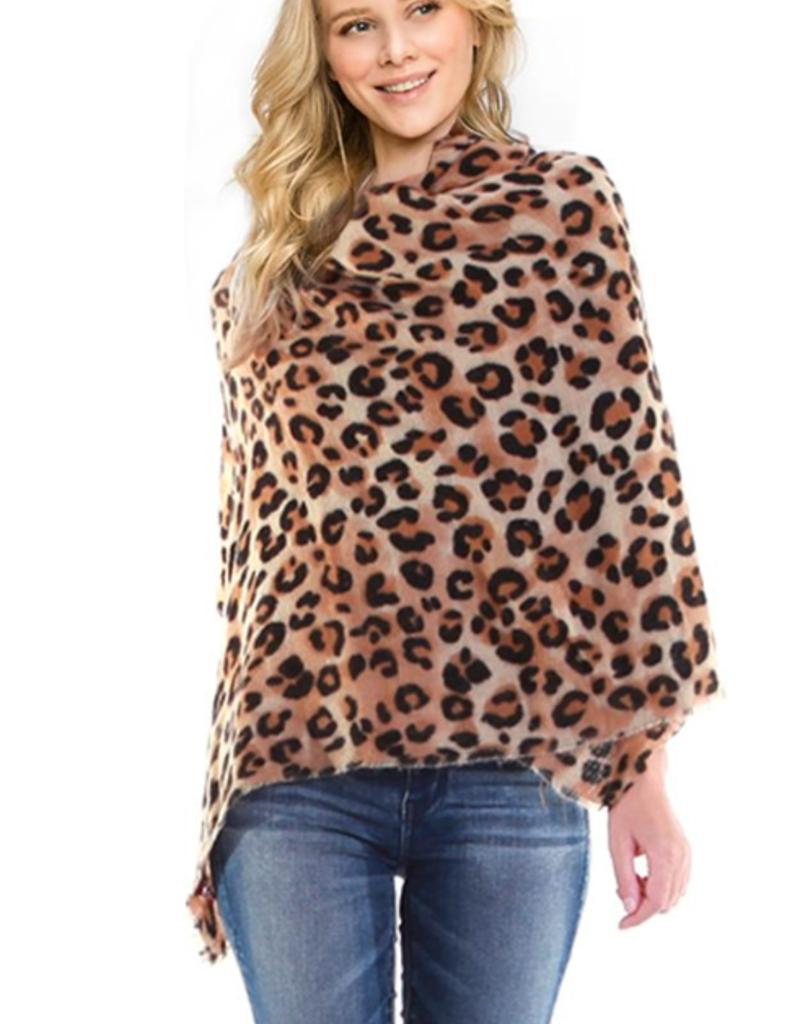 Ben's Wholesale Leopard Scarf