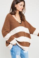 Wishlist Striped Oversize Sweater