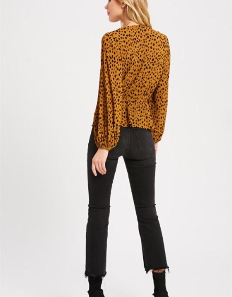 Wishlist Leopard Print Blouse