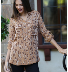 Nostalgia Animal Print Shirt