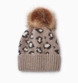 Look Cashmere Blend Leopard Hat